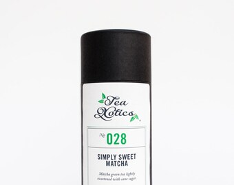 "Matcha Green Tea / Matcha tea, Matcha Sweet Tea, Instant Matcha, NO. 028, MATCHA ""Simply Sweet"