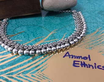 Beautiful Oxidized Necklace