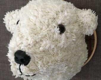 Polar Bear Textiledermy