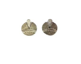 Sterling Silver Santa Fe Earrings