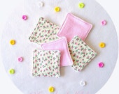 Washable/Reusable Makeup Wipes*Pads. Soft and gentle on sensitive skin. 1 Set 5 Wipes*Pads in total