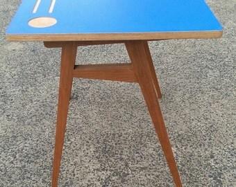 Handmade cool children's desk.