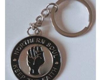 New Retro vintage northern soul  keychain mod 60/70 motown stax vespa lambretta wigan casino sccoter boys brighton quadrophenia