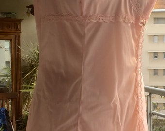 """Bottom of dress/combination """"HELIOS"""", vintage 60s, size 44"""