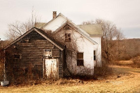 Abandoned Farmhouse Shaw far, Sutton MA Original Photography