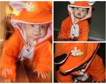 Fox Onsie Baby Romper Outfit
