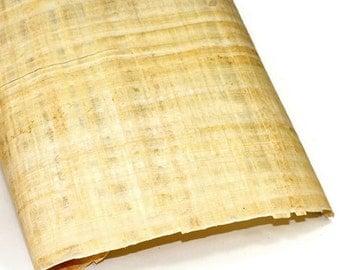 "Egyptian Papyrus Paper - LIGHT - 16"" x 24"""