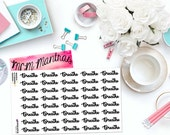 "MCM MANTRAS: ""Breathe"" Paper Planner Stickers!"