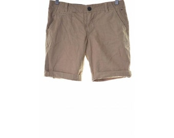 Tommy Hilfiger Womens Shorts W31 Brown Beige Cotton