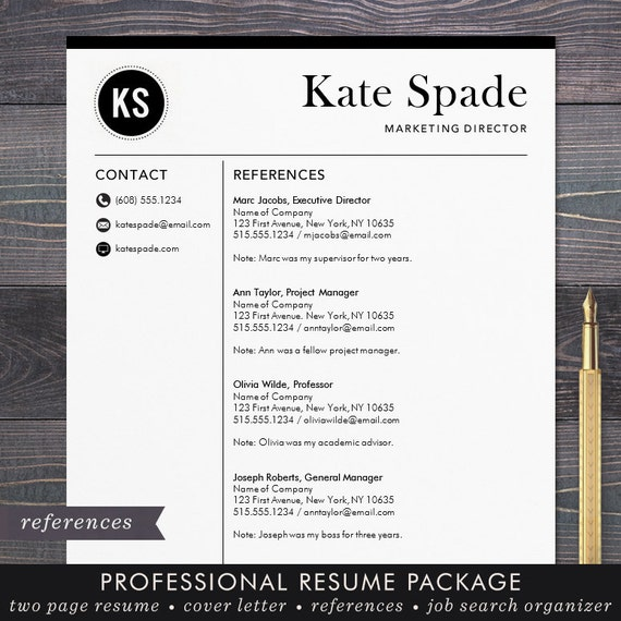 email resume templates