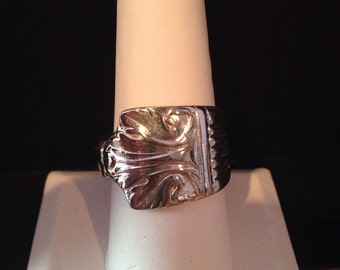 Silverware Ring Size 10