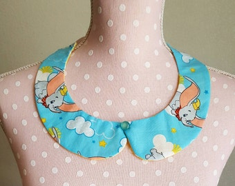 Dumbo Peter Pan Collar Necklace