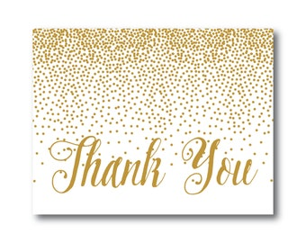 PRINTABLE Thank You Card, Printable Wedding Thank You Card, Wedding Thank You, Thank You Card, Thank You, Wedding Card #CL116