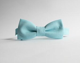 Robin Egg Bow Tie