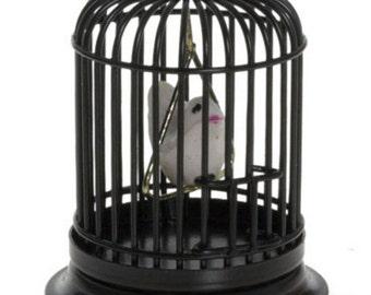 DOLLHOUSE MINIATURE Birdcage #S8034-ZC752-ZC753