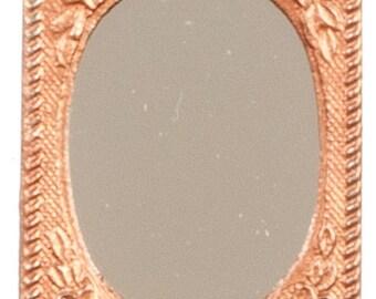 DOLLHOUSE MINIATURES Framed Mirrors #TIN0116-TIN6051-TIN6052-TIN6054-TIN6055-TIN6056
