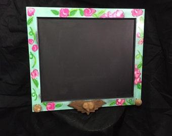 Frame chalkboard  -Wedding chalkboard - Rustic frame chalkboard - Frame chalkboard sign - Kitchen chalkboard -  ©Jack Jack's Wayart