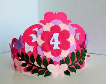 BIG Princess Brithday Party Crown