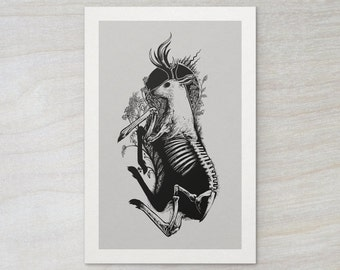 "Nourish - Open Edition Art Print, 12x18"""