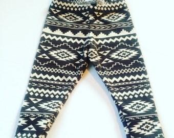 Tribal Knit Legging