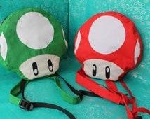 Backpack mushroom Mario