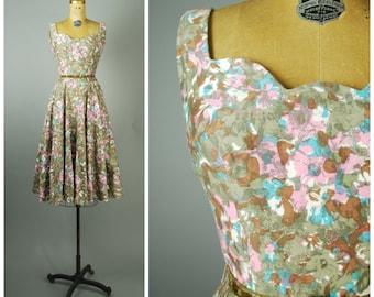 Giverny dress • 1950s cotton sun dress