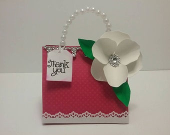 10 PC paper purse favor bag, paper handbags