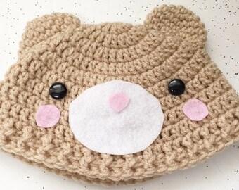 Children's Bear Hat