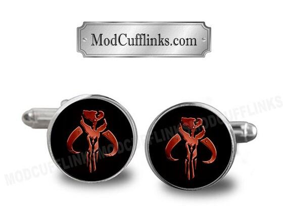 boutons de manchette star wars mandalorien symbole par modcufflinks. Black Bedroom Furniture Sets. Home Design Ideas