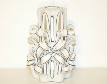 Nomeda Luxury Carved Candles
