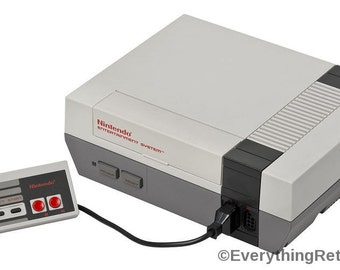 Free SHIPPING- Nintendo Entertainment System Set- controller INCLUDED! Makes a great gift for Old SCHOOL Gamers!