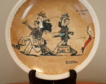 Norman Rockwell Tour Plates
