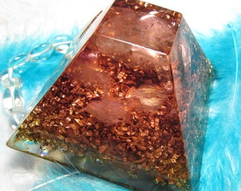 Healing Orgone with crystal quarzt - Ballance - Harmony - Piece of mind and soul