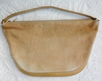 Lambertson Truex Made in Italy Pony Hair Shoulder Bag