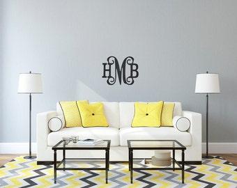 Wooden Monograms, Wooden Initials, Wall initials, Door Hanging