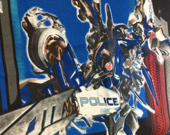 Transformers Police Library Bag, Swim Bag, etc