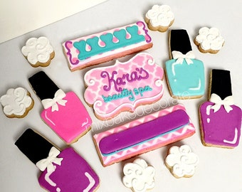 Beauty Nail Spa Cookie Set