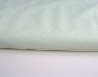 """green Fabric 135cm (54"""") wide voile polyester"""