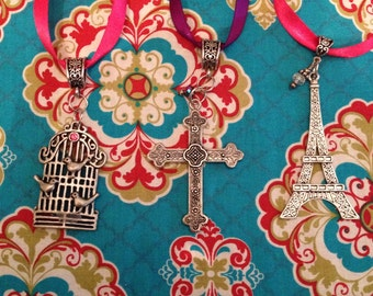 French Gypsy Jewelry Paris Gypsy Pendant Parisian Necklace