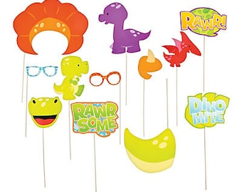 12/ Baby Dinosaur photo props / Photo booth /