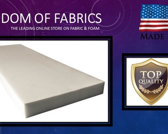 "Professional Upholstery Foam Padding 6"" X 26"" X 32"""