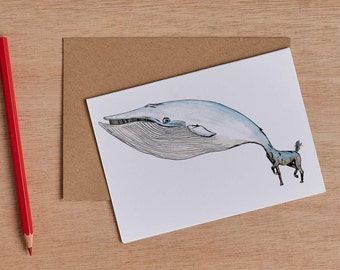 The Whorse Greeting Card