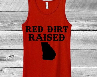 Red Dirt Raised Tank (Georgia)