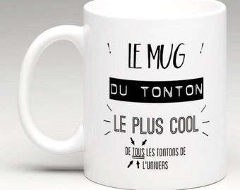 Mug the coolest tonton