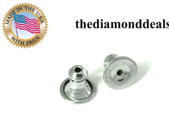 925 Sterling Silver Replacement Earring Nuts for Great Price