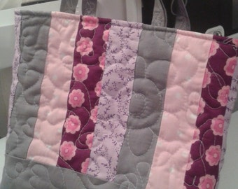 Handmade Quilted Bag 7""