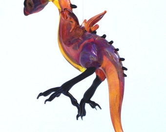 Glass Hanging Bantam Dragon
