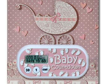 Baby due date countdown
