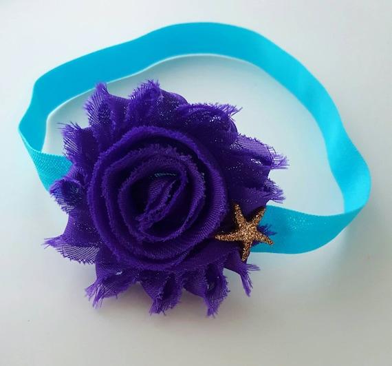 Island Blue Starfish Headband Under the Sea Cake Smash