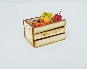 Organic Crate filled with Fruit 2